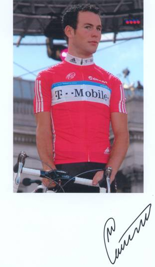 Mark Cavendish, Autograf