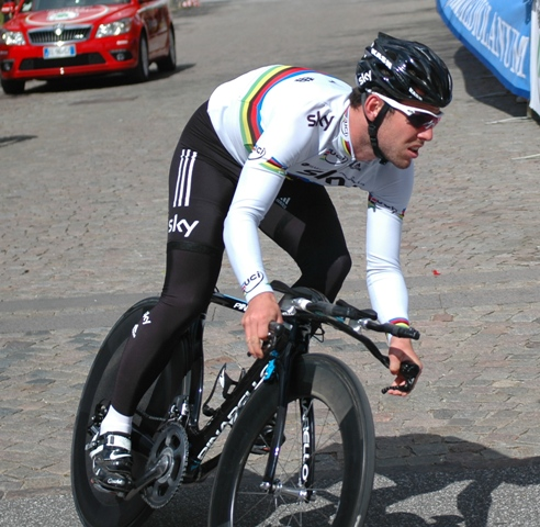 Mark Cavendish: Giro d'Italia, 1. etape 2012 i Herning