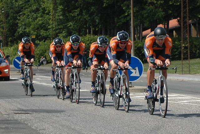 Riwal Cycling Team: DM i holdløb, 2014