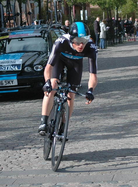 Peter Kennaugh: Giro d'Italia, 1. etape 2012 i Herning