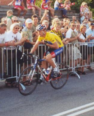 Lance Armstrong: Hadsten Grand Prix 2003