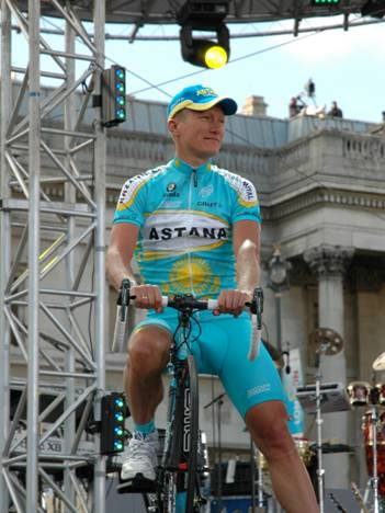Alexandre Vinokourov, Præsentationen til Tour de France 2007 i London