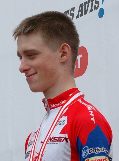 Mathias Lisson: DM i linieløb, Junior 2008 (Faaborg)