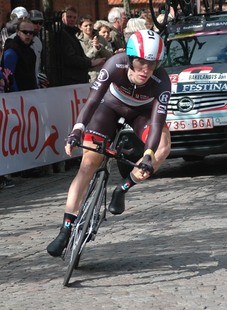 Jan Bakelants: Giro d'Italia, 1. etape 2012 i Herning