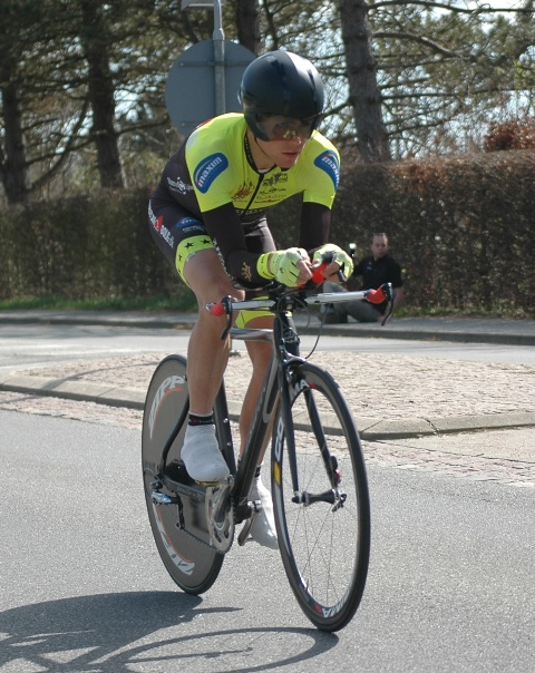 Nicolaj Amping: Cycling West enkeltstart, 2014