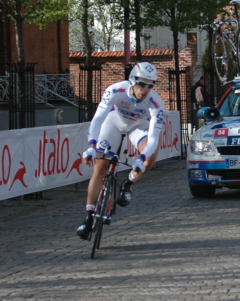 William Bonnet: Giro d'Italia, 1. etape 2012 i Herning