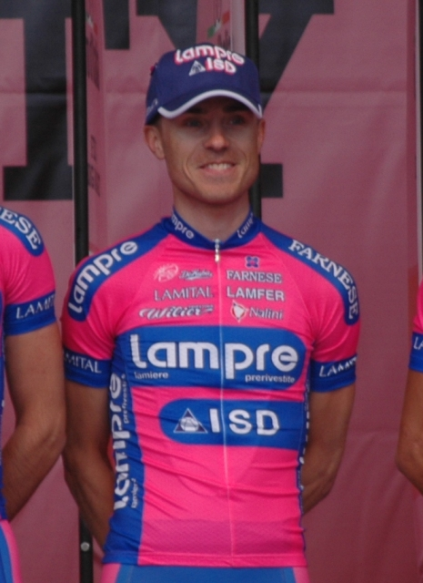 Damiano Cunego: Giro d'Italia, Præsentationen 2012 i Herning